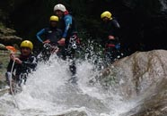 Canyoning, Curtelet, leisure